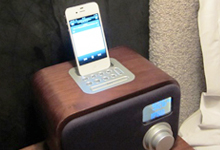 Mobile charger dock in each room